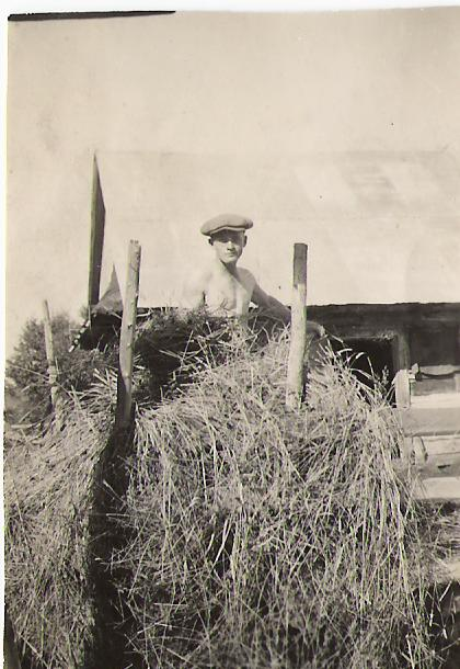 George with hay